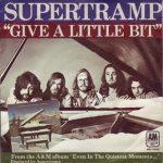 GIVE A LITTLE BIT Supertramp
