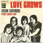 LOVE GROWS WHERE MY ROSEMARY GOES Edison Lighthouse